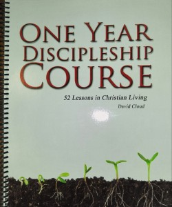 One Year Discipleship